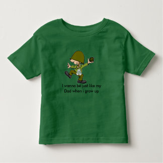 I wanna be just like my Dad when i g... Shirt