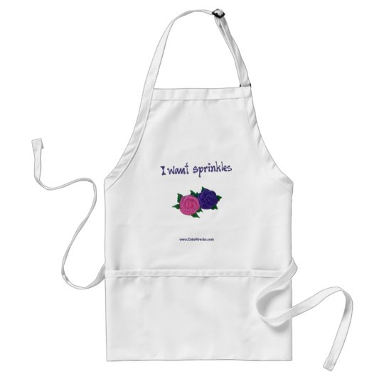 I Want Sprinkles Apron