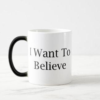 I Want To Believe Magic Mug