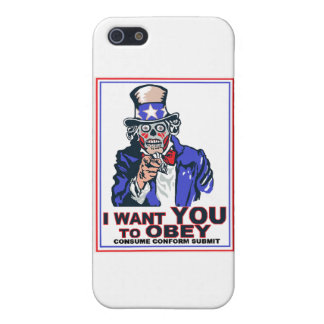 I Want You to OBEY! Case For The iPhone 5
