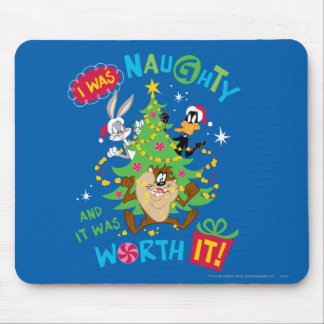 I Was Naughty Mouse Pad