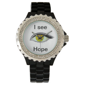 I watch and see hope