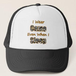 I Wear Camo Even When I Sleep Trucker Hat