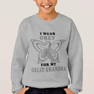 I Wear Grey for my Great Grandma Sweatshirt