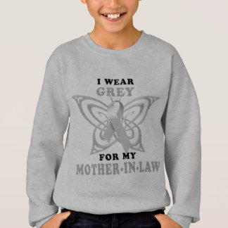 I Wear Grey for my Mother-In-Law Sweatshirt