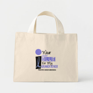 I Wear Light Blue For My Grandfather 9 PC Mini Tote Bag