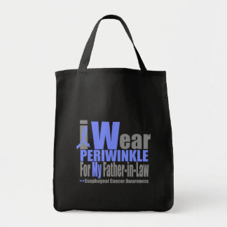 I Wear Periwinkle Ribbon For My Father-in-Law Bags