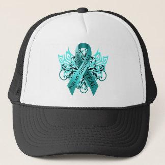 I Wear Teal for my Grandma.png Trucker Hat
