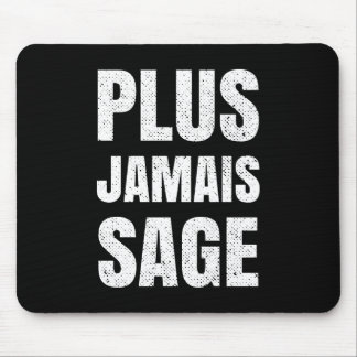 I Will Never Behave Again Naughty French Mouse Pad