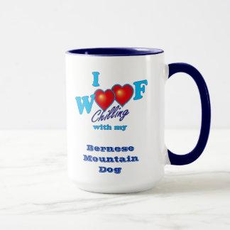 I Woof Bernese Mountain Dog Mug
