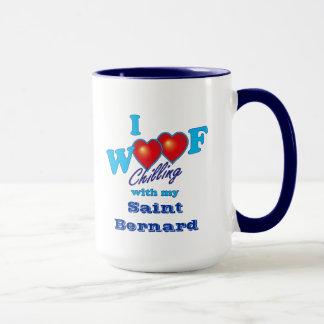 I Woof Saint Bernard Mug