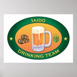 Iaido Drinking Team Print