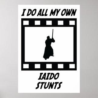 Iaido Stunts Posters