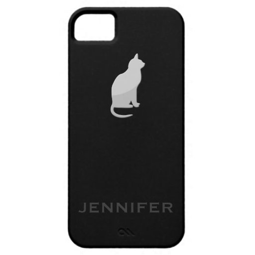 iAnimal Crackers featuring iCat iPhone 5 Case