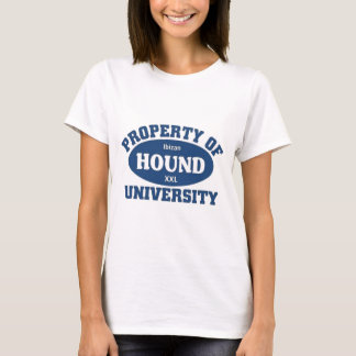 Ibizan Hound University T-Shirt