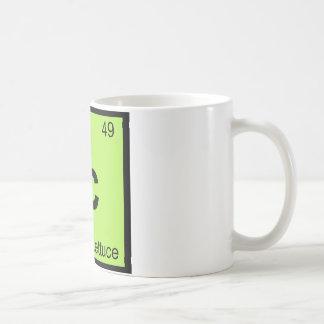 Ic - Iceberg Lettuce Chemistry Periodic Table Coffee Mug
