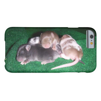 iCase: 4 Baby Mice Barely There iPhone 6 Case