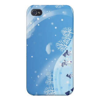 iCase winter Cover For iPhone 4