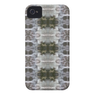 iCases with Frosted Abstract Design iPhone 4 Cases