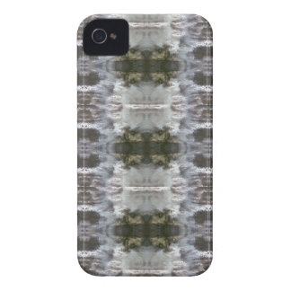 iCases with Frosted Abstract Design iPhone 4 Cover