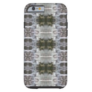 iCases with Frosted Abstract Design Tough iPhone 6 Case
