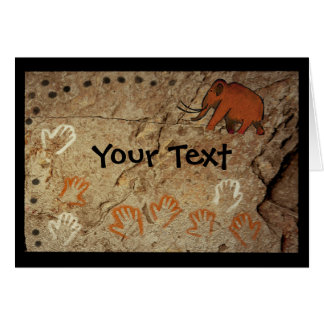 Ice Age Cave Art Card