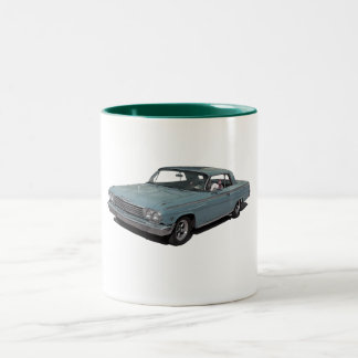 Ice Blue 62 Impala Two-Tone Coffee Mug