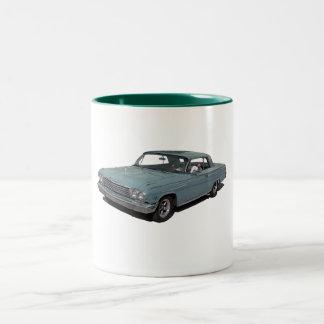 Ice Blue 62 Impala Two-Tone Mug