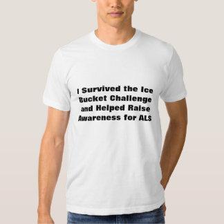 Ice Bucket Challenge Tee Shirt