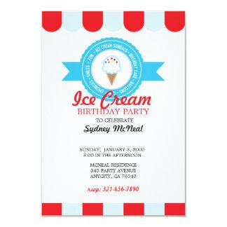 Ice Cream BIRTHDAY Invitation 4