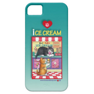 Ice Cream Cats iPhone 5 Case (Bud and Tony)