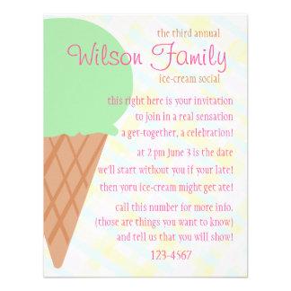 Ice Cream Cone Fun Announcement