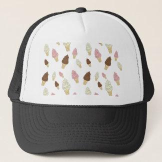 Ice Cream Cone Pattern Trucker Hat
