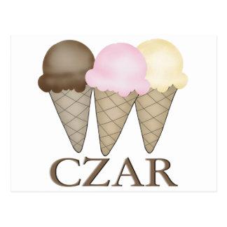 Ice Cream Czar Postcard