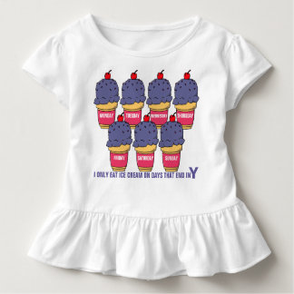 Ice Cream Every Day Toddler T-Shirt