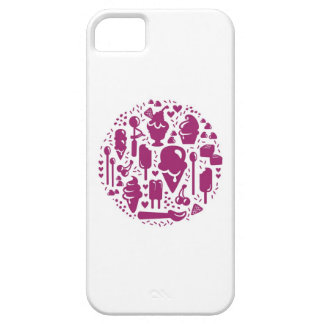 Ice Cream Iconography: Violet Case For The iPhone 5