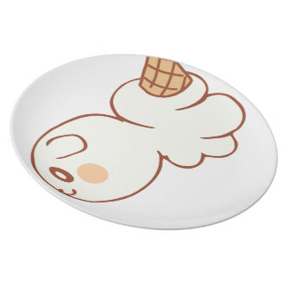 Ice-cream market icecream market dinner plate