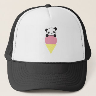 Ice Cream Panda Trucker Hat