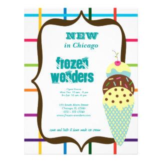 Ice Cream Salon 21.5 Cm X 28 Cm Flyer