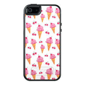Ice creams & cherries OtterBox iPhone 5/5s/SE case
