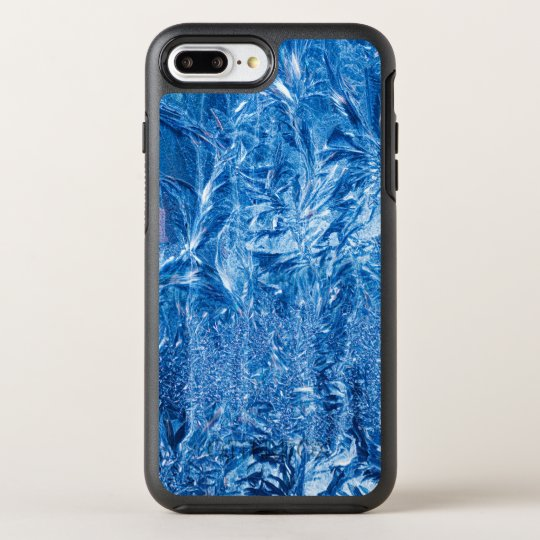 Ice Crystals in Blue OtterBox Symmetry iPhone 8 Plus/7 Plus Case