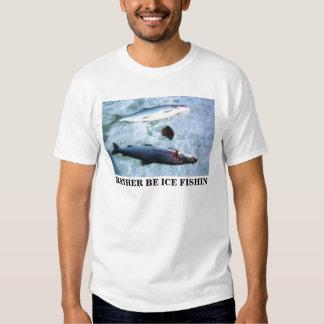 ICE FISHIN TEE SHIRT