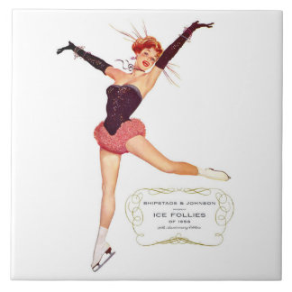 Ice Follies of 1956 Collectors Art Tile