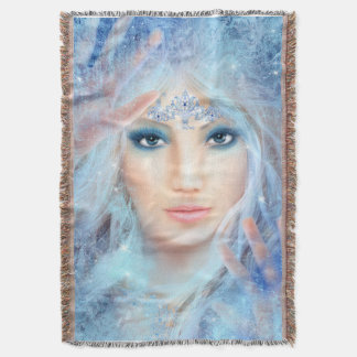 Ice Princess Throw Blanket