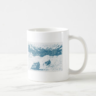 ice racing coffee mug