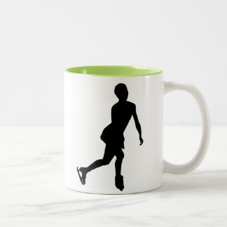 Ice Skater; Cool Coffee Mug