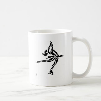 Ice Skater Layback Spin Coffee Mugs