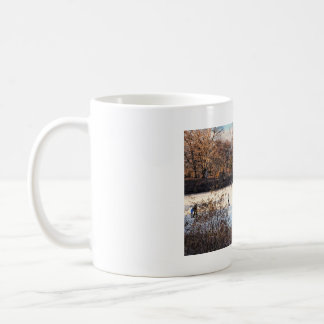 Ice Skaters Classic White Coffee Mug