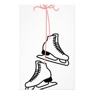 Ice Skates Stationery