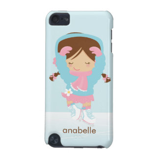 Ice Skating Girl Custom iPod Touch (5th Generation) Covers